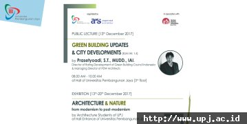 Green Building Updates & City Developments