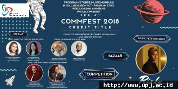 COMMUNICATION FESTIVAL 2018 - CREDIT TITLE