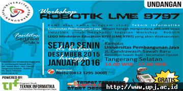 Workshop Robotik LME 9797