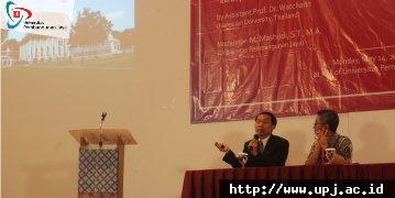 Public Lecture: Arsitektur Vernakular with Naresuan University