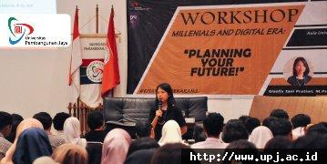 Millenial Merencanakan Masa Depan di UPJ