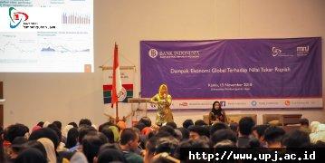 Seminar Manajemen: Dampak Ekonomi Global Terhadap Nilai Tukar Rupiah