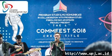 Communication Festival CREDIT TITLE : Place to Inspire You to be a Creativepreneur