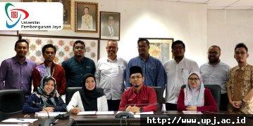 Program Studi Arsitektur UPJ Jalin Kerjasama Dengan Jabatan Senibina Uitm