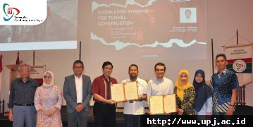 Universitas Pembangunan Jaya (UPJ) melalui Center for Urban Studies (CUS) menandatangani MoU Dan MoA dengan PT. Mapei Indonesia Construction Solutions